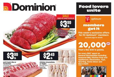Dominion Flyer April 8 to 14