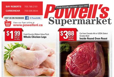 Powell's Supermarket Flyer April 8 to 14