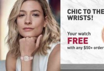 Yves Rocher Canada Deals: FREE Watch w/ Your Purchase $50 + Buy 1 Get 1 FREE Sitewide + More