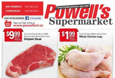 Powell's Supermarket Flyer June 10 to 16