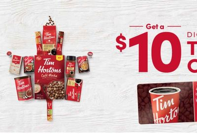 Get A $10 Digital Tim Card When You Spend $30 On Tim's At Home Products