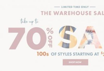 Motherhood Maternity Canada The Warehouse Sale: Save Up to 70% OFF Many Items + More
