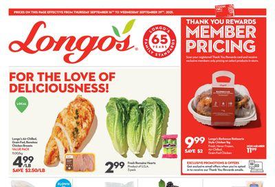 Longo's Flyer September 16 to 29