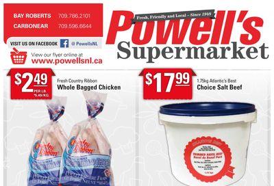 Powell's Supermarket Flyer September 16 to 22