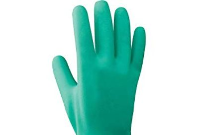 Showa 730 Cotton Flock-Lined Nitrile Chemical Resistant Safety Glove, Large (Pack of 12 Pairs) $21.96 (Reg $31.89)