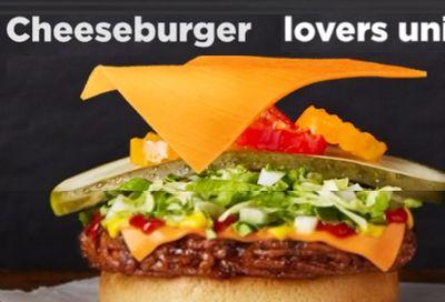 Happy as a Cheeseburger! at Harvey's