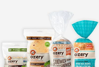 Buy One, Get One Free Buy one Ozery Bakery Product and get one free.